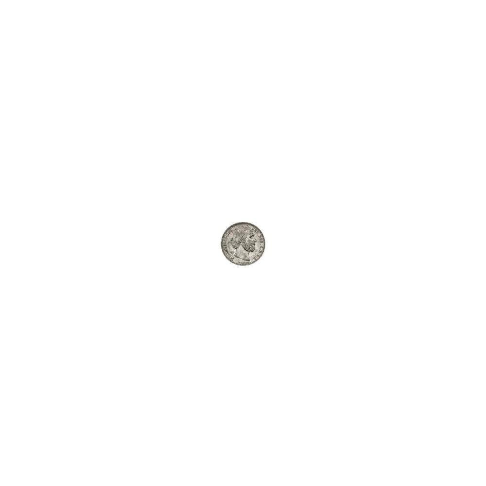 Koninkrijksmunten Nederland 2½ gulden 1853