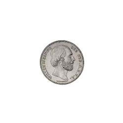 Koninkrijksmunten Nederland 2½ gulden 1857