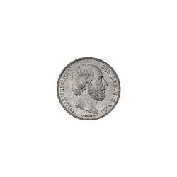 Koninkrijksmunten Nederland 2½ gulden 1866