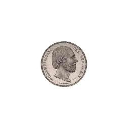Koninkrijksmunten Nederland 2½ gulden 1870