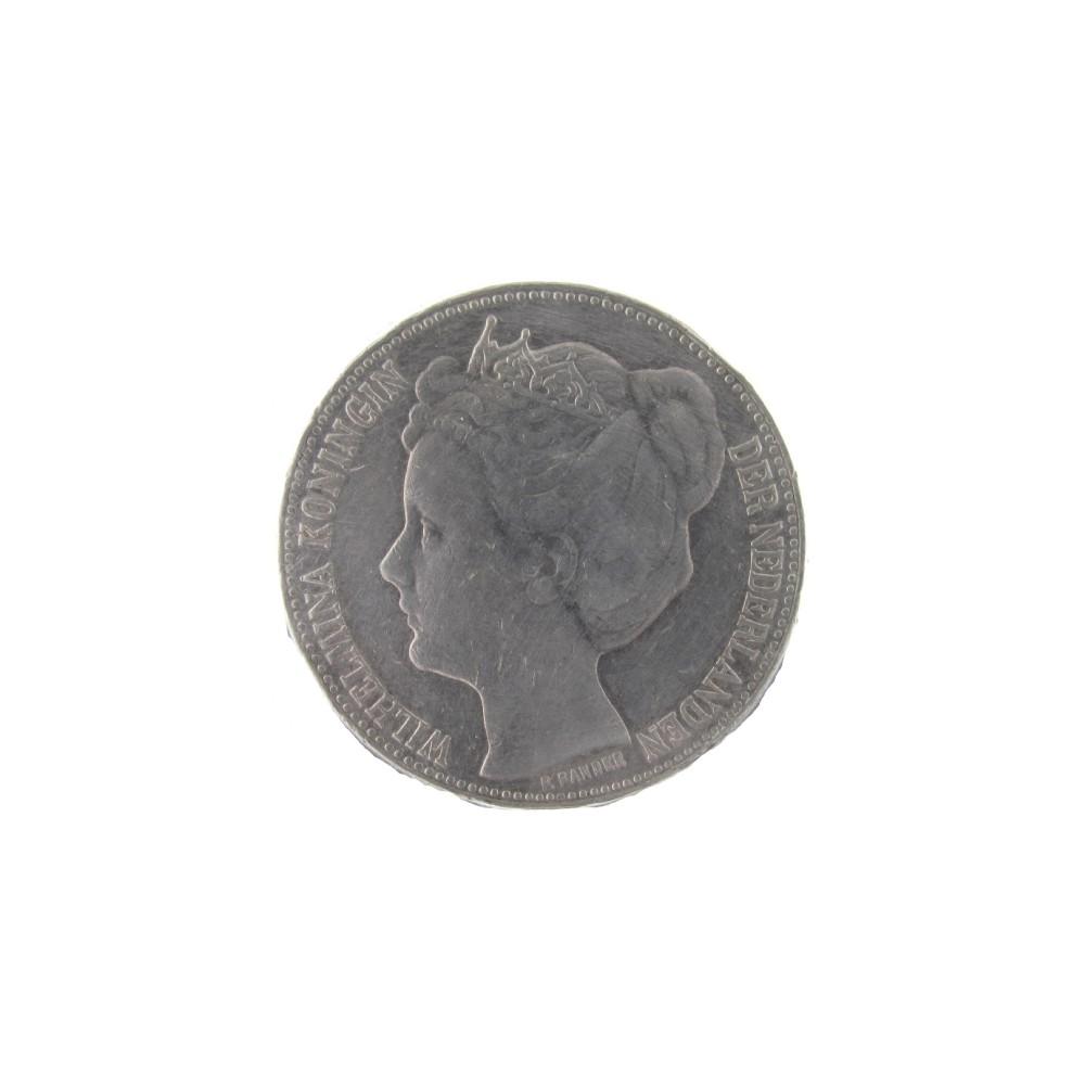 Koninkrijksmunten Nederland 2½ gulden 1898