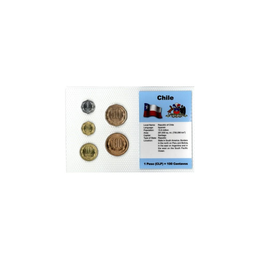 South America Chile Wereldset type 1 | de Chileense Peso
