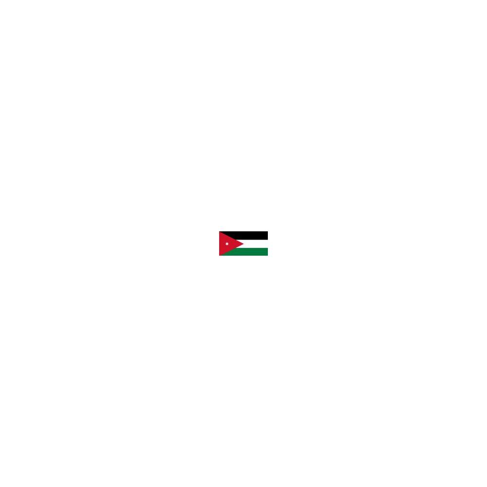 Azië Jordanië Wereldset type 1   de Jordaanse Dinar