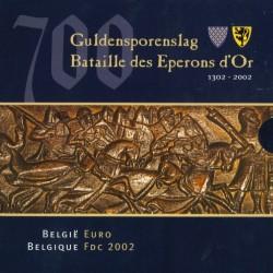 Belgie BU-Set 2002