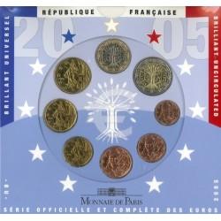 Frankrijk BU-Set 2005
