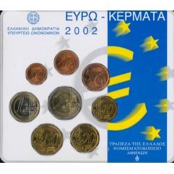 Griekenland BU-Set 2002 Uitgifte Koninklijke Nederlandse Munt