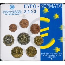 Griekenland BU-Set 2003