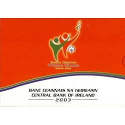 Ierland BU-Set 2003 + 5 euromunt