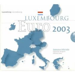 Luxemburg BU-Set 2003