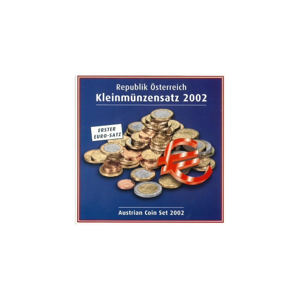 Oostenrijk BU-Set 2002