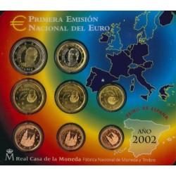 Spanje BU-Set 2002