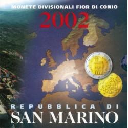 San Marino BU-Set 2002