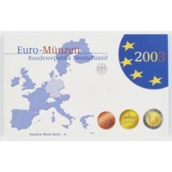 Duitsland 5x Proofsets 2003 - letters A, D, F, G en J
