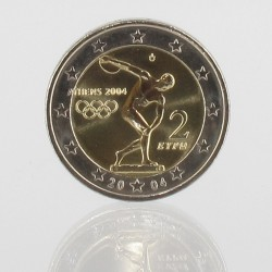Griekenland 2 euro 2004 'Olympische Spelen in Athene'