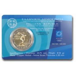 Griekenland 2 euro 2004 in blister 'Olympische Spelen in Athene'