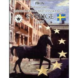 Zweden blister 1c t/m 2 E 2003