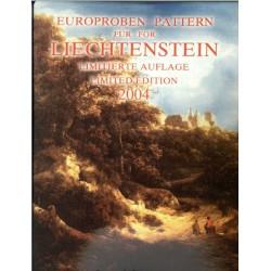 Liechtenstein blister 1c t/m 2 E 2004