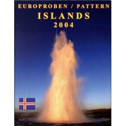 IJsland blister 1c t/m 2 E 2004