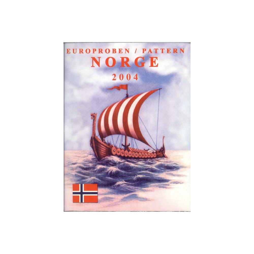 Noorwegen blister 1c t/m 2 E 2004