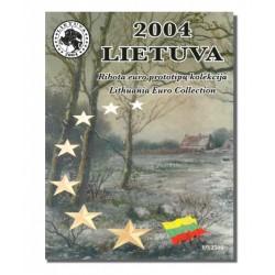 Litouwen blister 1c t/m 2 E 2004