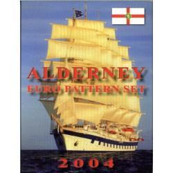 Alderney blister 1c t/m 2 E 2004