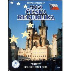 Tsjechië blister 1c t/m 2 E 2004
