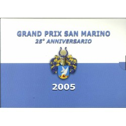 San Marino blister Grandprix San Marino 25 jaar 1c t/m 2 E 2005