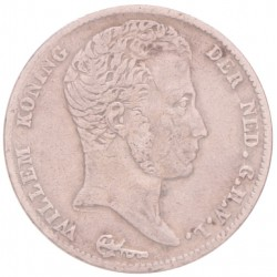 Koninkrijksmunten Nederland ½ gulden 1822 zonder michaut