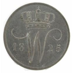 Koninkrijksmunten Nederland 10 cent 1825 U