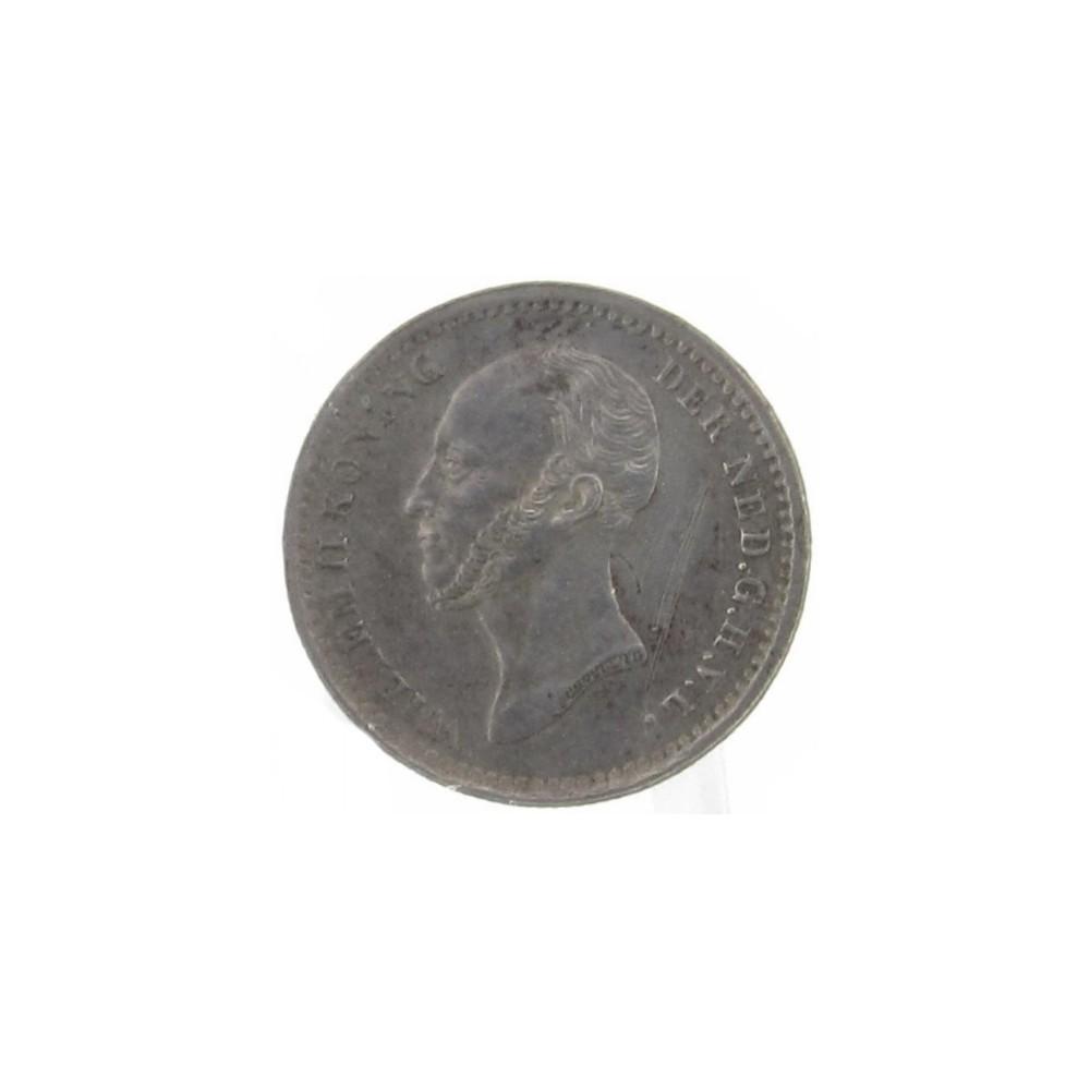 Koninkrijksmunten Nederland 5 cent 1848