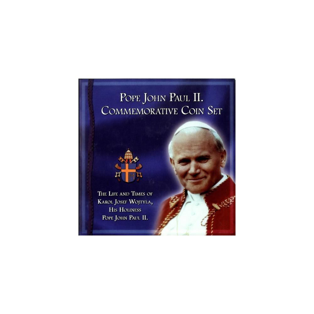 Paus Johannes Paulus II Commemorative Coin Set
