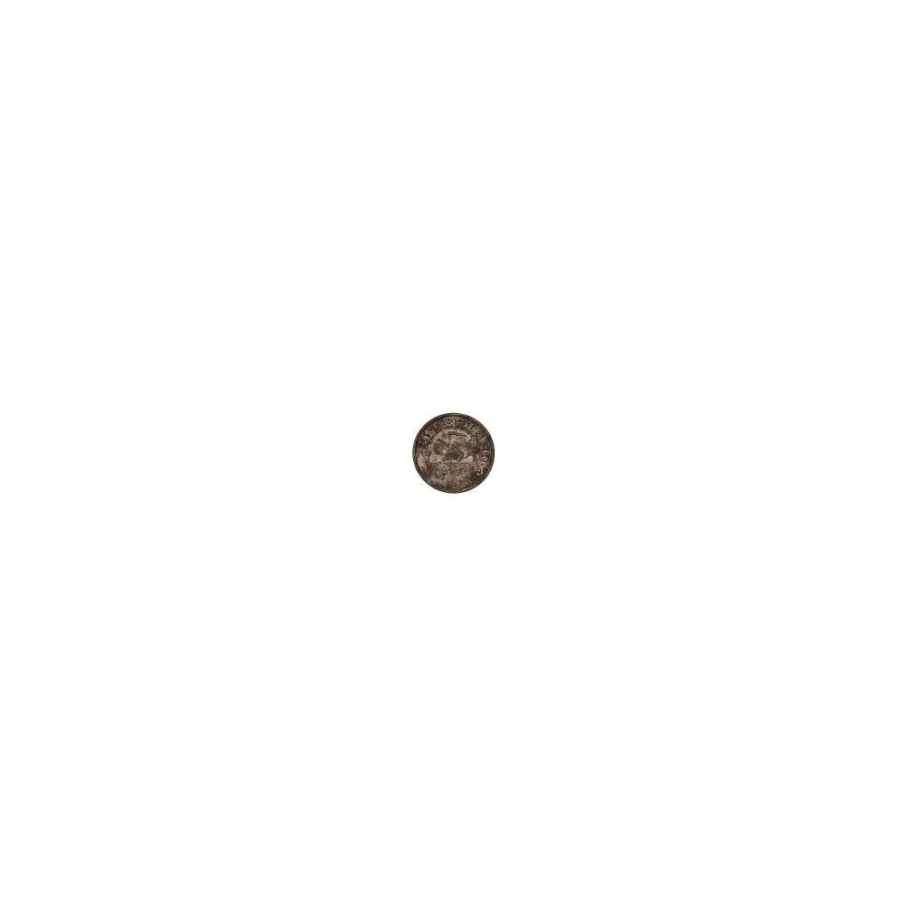 Koninkrijksmunten Nederland 25 cent 1942 zink