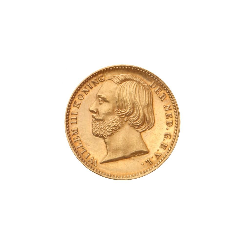 Koninkrijksmunten Nederland 5 gulden 1851 negotiepenning