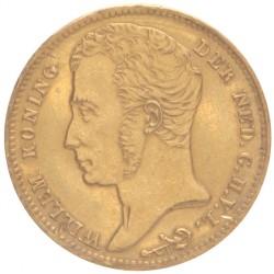 Koninkrijksmunten Nederland 10 gulden 1824 U