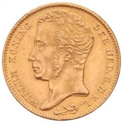 Koninkrijksmunten Nederland 10 gulden 1825 B