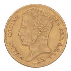 Koninkrijksmunten Nederland 10 gulden 1830 U