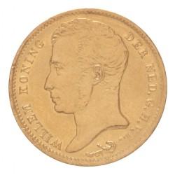 Koninkrijksmunten Nederland 10 gulden 1833 U