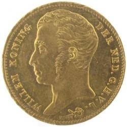 Koninkrijksmunten Nederland 10 gulden 1837 U