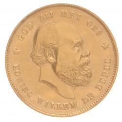 Koninkrijksmunten Nederland 10 gulden 1879/1877