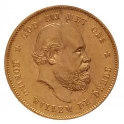 Koninkrijksmunten Nederland 10 gulden 1885