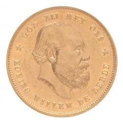 Koninkrijksmunten Nederland 10 gulden 1886