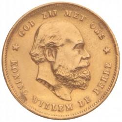 Koninkrijksmunten Nederland 10 gulden 1887