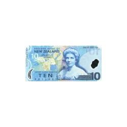 New Zealand10Dollars (plastic)ND 2006