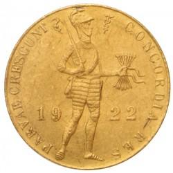 Koninkrijksmunten Nederland Gouden dukaat 1922