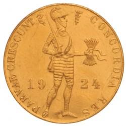 Koninkrijksmunten Nederland Gouden dukaat 1924