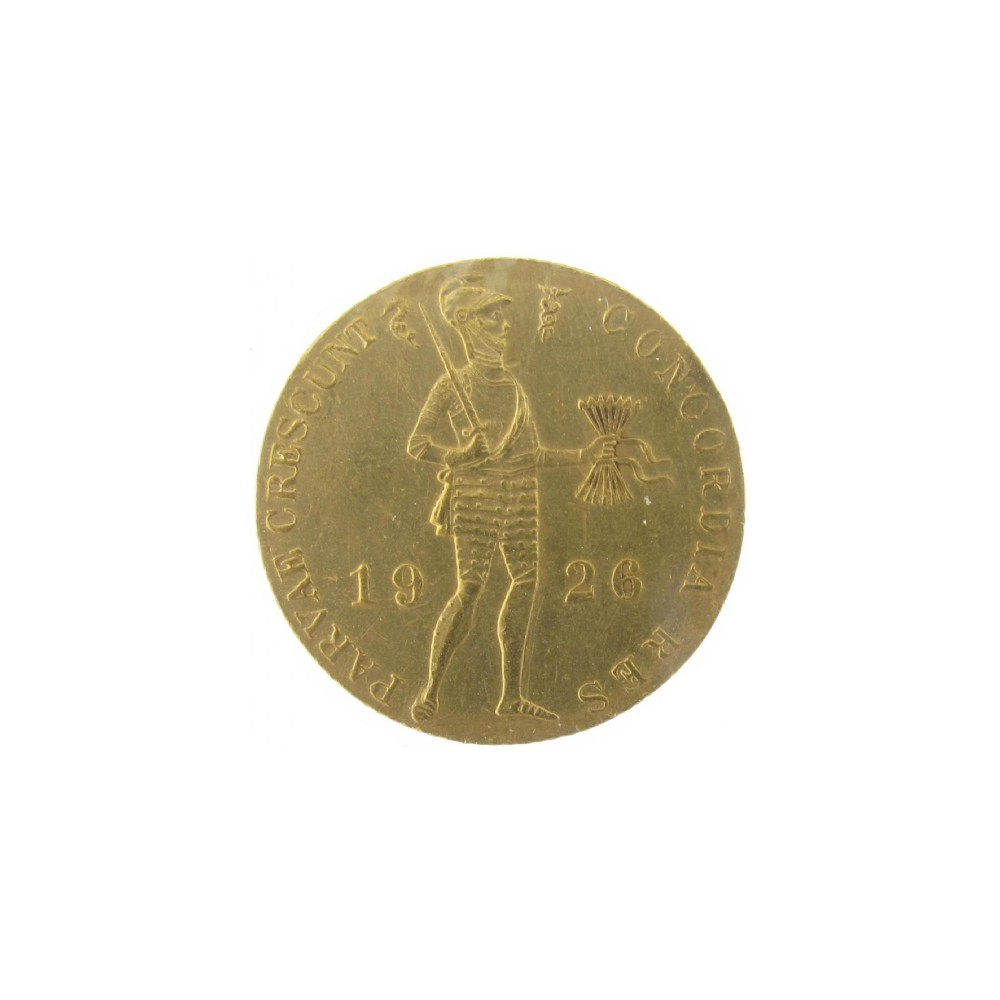 Koninkrijksmunten Nederland Gouden dukaat 1926