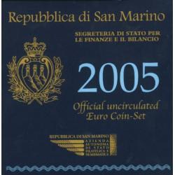 San Marino BU-Set 2005