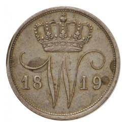 Koninkrijksmunten Nederland 10 cent 1819 U