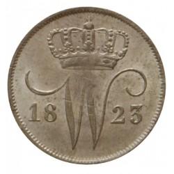 Koninkrijksmunten Nederland 10 cent 1823 B
