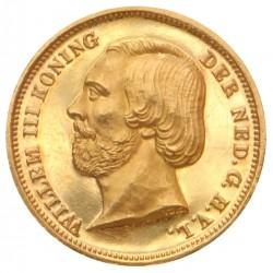 Koninkrijksmunten Nederland 10 gulden 1850 Negotiepenning